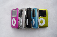 free shipping 5pcs/lot  New 3th LCD Screen Mini MP3 Player Support 1-8GB Micro SD/TF Card Build in Speaker