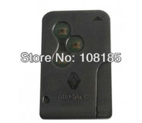 Best quality Renault Megane smart card 3 button with key blade 434Mhz ID46 chip with dhl shiping fee 10pcs/ lot