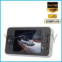 Free Shipping K6000 Car DVR Sunplus 1920*1080p Night Vision Mini Camera no G-Sensor Car Video Recorder Russia