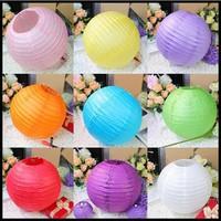 20cm Handmade craft Tissue Paper ball/ paper Lantern Wedding Party festival  decorations(40pcs/lot)
