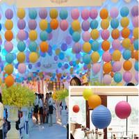 35cm Handmade craft Tissue Paper ball/ paper Lantern Wedding Party festival decorations(10pcs)