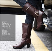 free shipping new 2013 autumn -Winter 1 pair Fashion women genuine leather shoes size 35-40