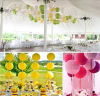 25cm Handmade craft Tissue Paper ball/ paper Lantern Wedding Party festival decorations(30pcs)