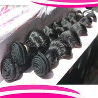 "1pcs/lot peruvian virgin real hair loose wave natural color human being hair extension unprocessed hair,8""-28""  100g/bundle"