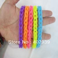 Free ship  DIY loom bands funny bands bracelets silicon bands bracelets Silicone loom bands/DIY silicone bands