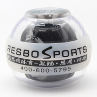powerball-gyroscope Transparent Cover GYRO HAND EXERCISER PowerBall Gyroscope Strength White LED