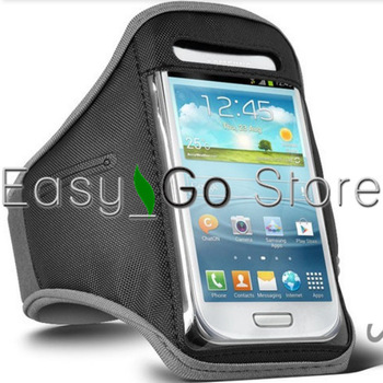 10pcs For Samsung i8190 Sports Armband Workout Running Armband Case Holder For Samsung Galaxy S3 mini i8190
