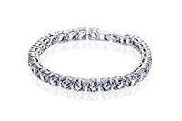 Free Shipping Exquisite Luxury Valentine's Day Gift Super Flash AAA Zircon Bracelets