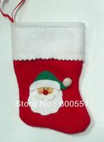 Free shipping by FedEx IE to USA mini Santa Christmas stocking