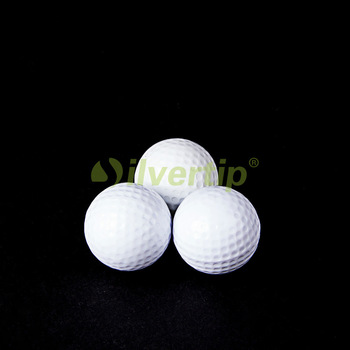 Free Shipping 2pcs Pack Golf Flash Ball Novelty Winter Assorted Light Night Fun Trackable