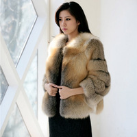 2013 new arrivals fox fur coat women luxury fashion fox fur jacket free shipping DHL TF0440