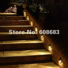 Stair Lighting LED Outdoor Staircase Lighting LED IP65: Including 20pcs 0.4W Lights Only(China (Mainland))