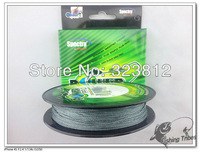 Bargain price &Free shipping .High quality 300yards braided fishing line 8lb ----80lb GRAY. 100% PE