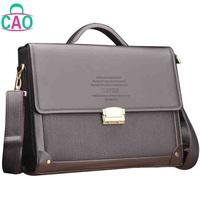 Restore ancient ways bag composite leather briefcase handbag shoulder leather + microfiber, men messenger bag men's bags D10158