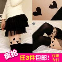 princess lolita socks Socks patchwork stockings pantyhose stockings over-the-knee stocking socks