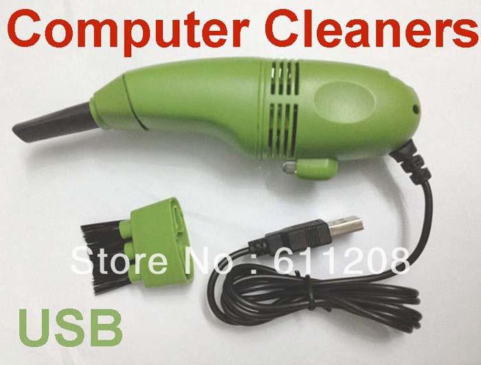 Wholesale price Mini USB Vacuum Keybord Cleaner for PC LAPTOP fast shipping(China (Mainland))