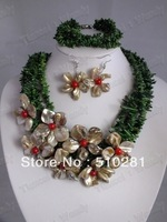 No, 002 Fashion Coral beads Jewelry Set for african wedding