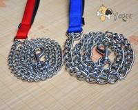 Free Shipping!Dog Chrome-Plated Steel Dog Leash 2.0mm*120cm Large Dog Collar Chain XL Dog Harness