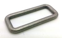 38X12mm Anti Silver Zinc Alloy Square Ring Bag Handbag Garment Hardware Accessory HOXY Wholesale Factory Outlet GS12-SR3804C