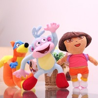 Free Shipping Dora Toys Dora Plush Toys Troublemaker And Monkey Plush Toys