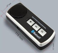 Wireless Bluetooth handsfree car kit with Speakerphone auto charger ,Portable blue tooth Hands