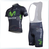 2013/13 new movistar mobile version star of the tour DE France braces short-sleeved dress wholesale cycling jerseys on sale