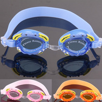 Goggles silica gel waterproof antimist child male female child swimming goggles child swimming glasses crab