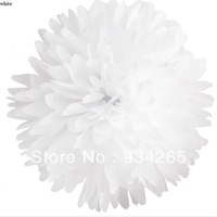 "8"" (20cm)  white Decorative Flowers & Wreaths Paper Pom PomsColorful tissue paper flower wedding Party Supplies ball Tissue"