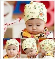 Cartoon puppy small cherry discontinuing pocket hat child cap baby hat