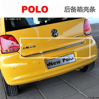 Free Shipping, Vw trunk pullo stainless steel decoration light bar polo luggage light bar refires