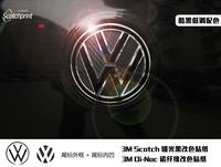 Free Shipping, 6cc steps leaps polo passat carbon fiber reflective car label