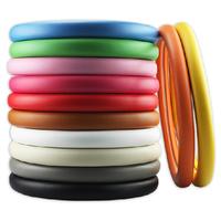 Free Shipping, Rose women's four seasons handlebar set fashion check car steering wheel cover multicolor