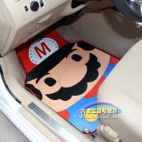 Free Shipping, Car mats latex cartoon general mat fashion jushi thickening slip-resistant waterproof