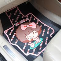 Free Shipping, Saw doll cartoon car mats general mat car mat slip-resistant waterproof