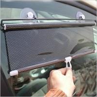 Car sun-shading curtain car roller shutter sun-shading curtain automatic retractable curtain front rise supplies insulated