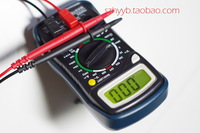 free shipping  (1pcs/lot)Multimeter shock set + keeping + + data backlight off MAS830L Huayi Huayi mastech