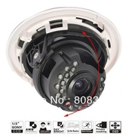 HD 700TVL Effio 2.8-12mm Focus Zoom Lens CCTV Security Home Surveillance IR Infared Day Night Vision Tiny Dome Camera OSD D-WDR