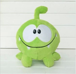 20CM=7.8Inch Game CUT THE ROPE Candy Gulping Monster Cute Plush Stuffed Toy Doll Children Gift(China (Mainland))