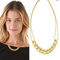 Jewelry Items European Popular Punk Style Simple Elegant Bone Chain Necklace For Women Ladies