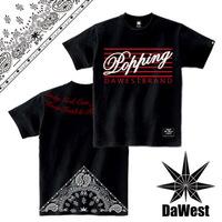Dawest2013 popping short-sleeve T-shirt west coast westcoast short-sleeve