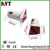 Promotion 5V1A car usb charger with CE,FCC,Rohs