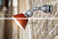 Water pipe lamp industrial lamp nostalgic vintage loft lamp casual led wall lamp