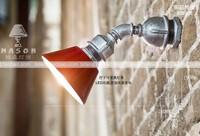 Water pipe lamp industrial lamp nostalgic vintage loft lamp casual led wall lamp