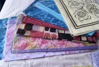 Tourmaline silk scarf tourmaline silk scarf health care silk scarf customize