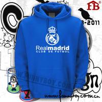 Real madrid champions league sweatshirt real madrid lovers hoodie fleece outerwear