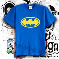 T-shirt batman high quality 100% cotton multicolor