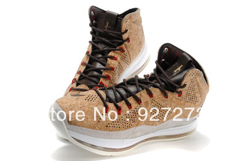 2013 lebrons 10 X EXT Cork QS basketball for sale Mens footwear Free shipping Brand Trainer Basketball Athletic Shoes US 8-12