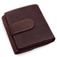 Кошелек Male wallet male long design cowhide wallet classic vintage commercial vertical wallet E2065