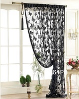 Free Shipping,Whole Sale,Fringe Curtain,Size:100*200cm,Butterfly Design , 1PCS