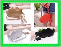 B157 Drop shipping 2013 womens european FASHION LADY fringed shoulder diagonal packet